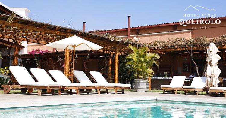 piscina en hotel romantico